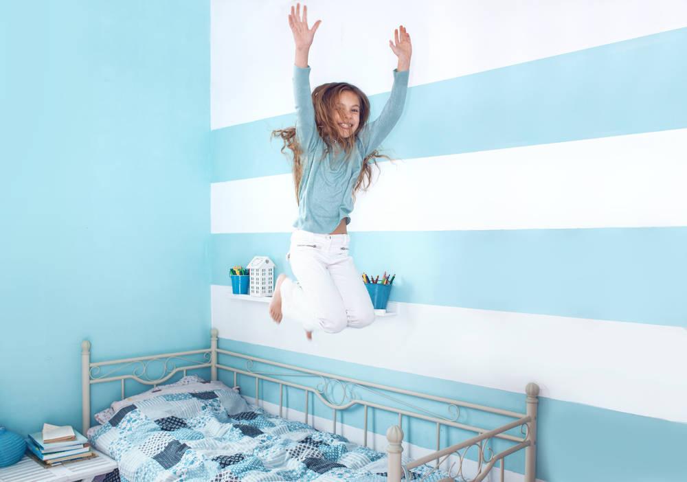 Cómo pintar una habitación según la edad de tu hijo
