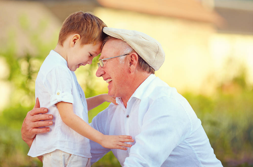 En París o en Alcorcón, pero con los abuelos