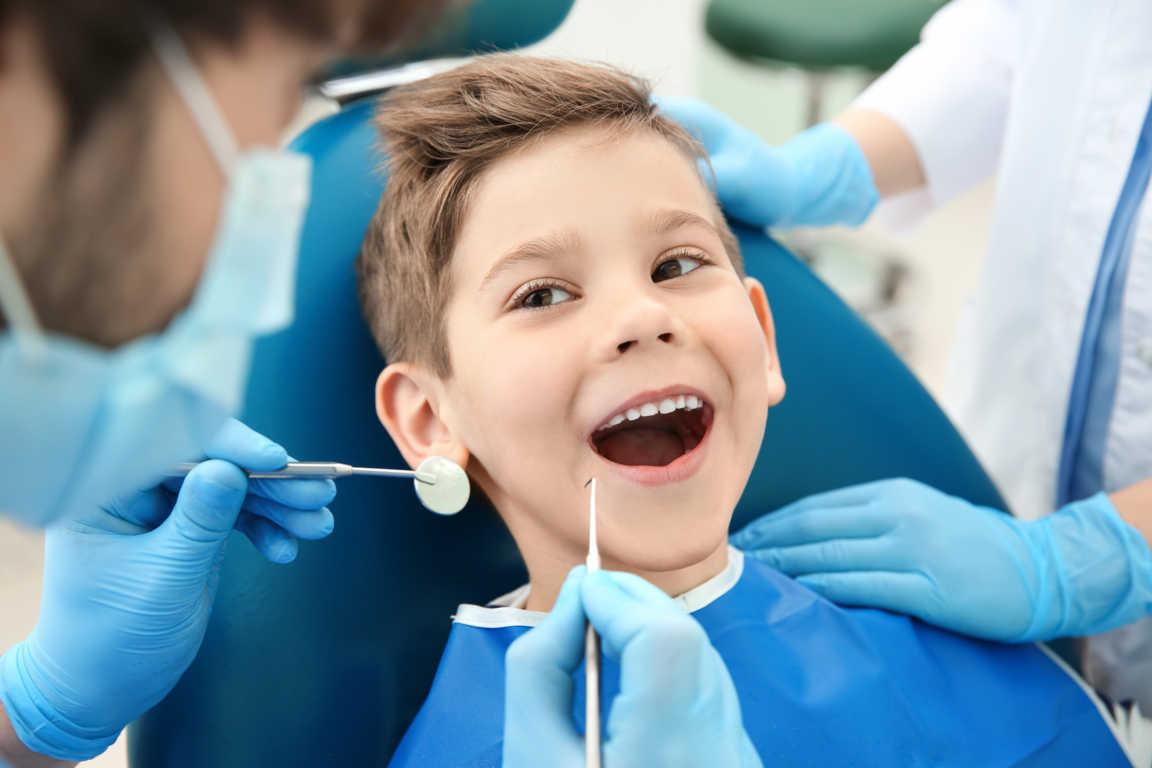 La odontología para niños
