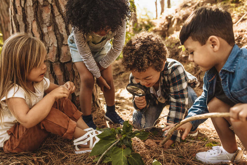 El contacto con la naturaleza es necesario para la sensibilización de las niñas y niños